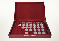 Pellers box for coins